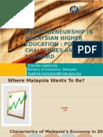 EC Thematic Forum on Developing Entrepreneurial Universities Edited Hamidon