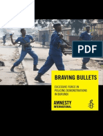 Braving Bullets; Excessive Force in Policing Demonstrations in Burundi - Amnesty, 22 Jul 2015