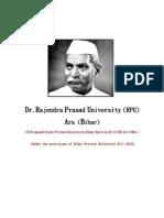Dr.rajendra Prasad University, (RPU)1