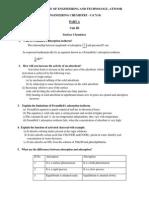 Engineering Chemistry - i (Cy14)43