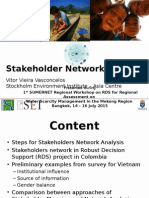Stakeholder Network Analysis