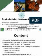 Stakeholder Network Analysis