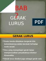 bab 2 Gerak Lurus.pptx