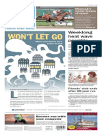 Asbury Park Press front page Tuesday, July 28 2015