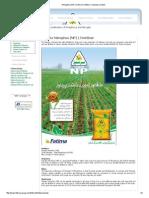 Nitrophos (NP) _ Fatima Fertilizer Company Limited