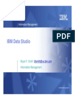 1034A Administration Tooling in IBM Data Studio