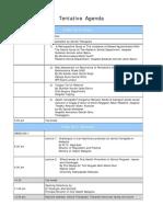 Conference Agenda 2015