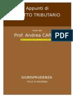 APPUNTI DI DIRITTO TRIBUTARIO.doc