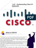 Cisco 300-115 Questions