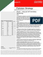 Pakistan Strategy 30-6-2015