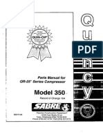 Manual de Partes Electro Compresor QUINCY QR-25