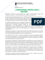 Disputa Entre Chile y Bolivia Fernando Herrera