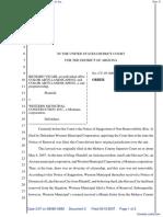 Vicari, et al v. Western Municipal Construction Inc. - Document No. 5