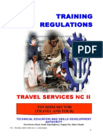 TR Travel Services NC II