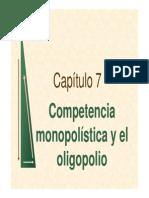 Cap 7_competencia Monopolistica y Oligopolio