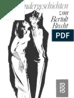 Brecht, Bertold - Kalendergeschichten