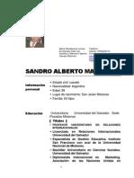 MARTINEZ, Sandro Alberto - ISFOTEP