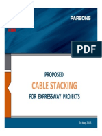 Cable Stacking