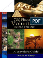Kelsey - 700 Places to Volunteer Before You Die