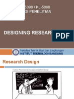 5 Metodologi Penelitian - Designing Research