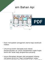Sistem Bahan API