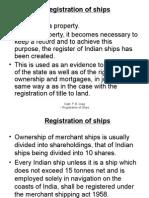Registration of Ships 02.11.2014