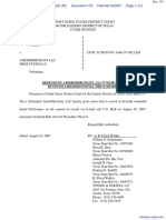 AdvanceMe Inc v. AMERIMERCHANT LLC - Document No. 170