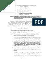 DGFT Public Notice No.20/2015-2020 Dated 9th June, 2015