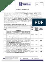 Adjudicação Pregão Presencial Nº 0332015 - Registro de Preços - Mat. Cons. Hosp. (Curativos) - Fht