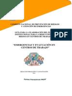 Emergencias y Evacuacion Centros de Trabajo