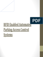 RFID Enabled Automated Parking Access Control Systems