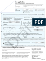 Proposed Voter Registration Form