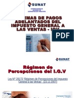 Sistemas de Pago Adelantado Del Igv
