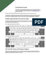 Default Shruti Gujarati Keyboard Layout
