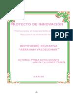 49594167 Proyecto de Innovacion