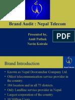 Brand Audit Nepal Telecom