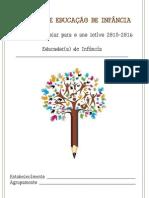 Agenda Bloguefólio - Registos de Educação de Infância 2015-16