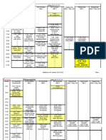 Belegungsplan Mo-Sa ab 1.1.2010