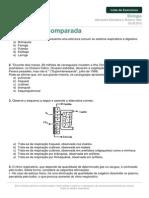 Listadeexercicios Biologia Respiracao Comparada 29 06