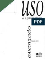 Uso de La Gramática Española. Avanzado-Edelsa (1997)