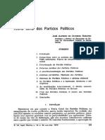 Teoria Geral Dos Partidos Políticos