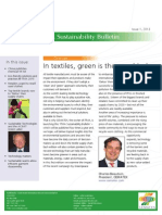Itma Sustainability Bulletin Issue 1 2013 En