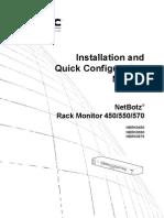 Manual de Instalación Netbotz