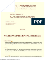 Multistage Differential Amplifiers