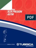 Tubrica Catálogo PVC Alta Presión