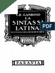 La Sintassi Latina (1)