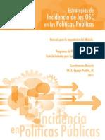 Manual de Estrategias de Incidencia de Las OSC en Las Políticas Públicas