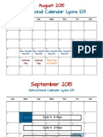 instructional calendar 2015 16 monthlycycles 6 15