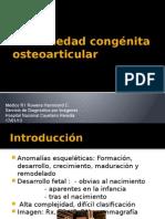 Enfermedad congénita osteoarticular