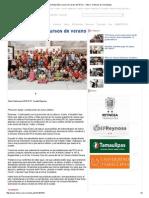 07-27-2015 Visita Pepe Elías Cursos de Verano Del IRCA